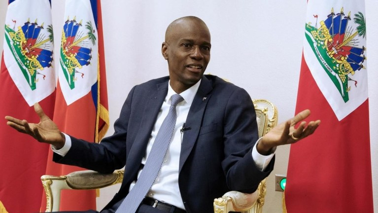 The president of Haiti assassinated in an attack on his residence