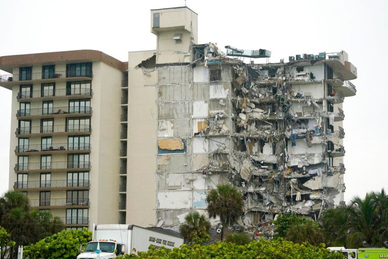 A 2018 report revealed structural damage to the collapsed building in Miami
