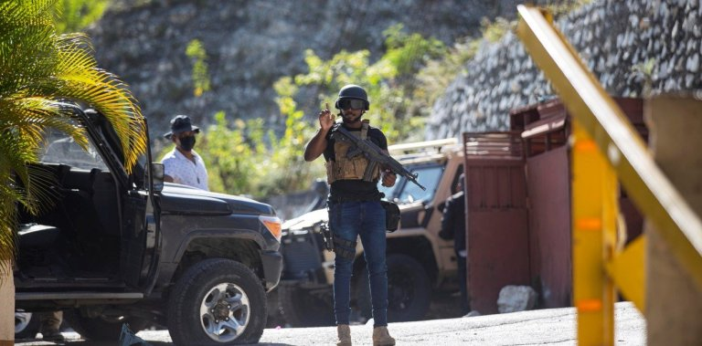 Prime Minister declares a state of siege in Haiti after Moise's assassination