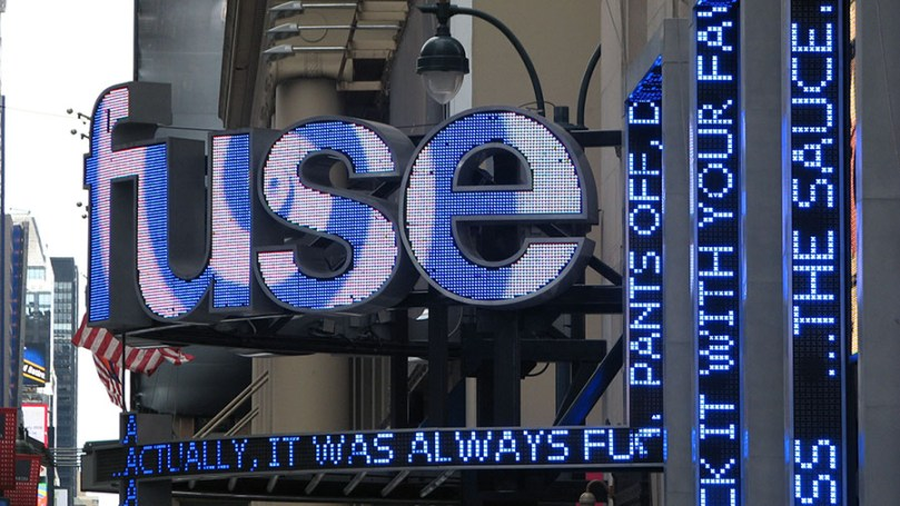 Photo: Signage in Manhattan - Fuse TV