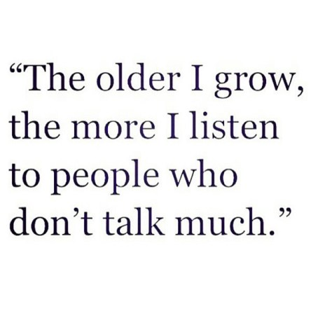 The Older I Grow