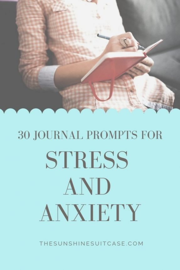 30 Journal Prompts for Anxiety and Depression. Journaling for mental health