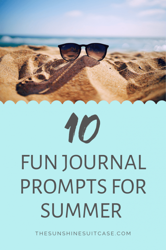 Journal Prompts for Summer