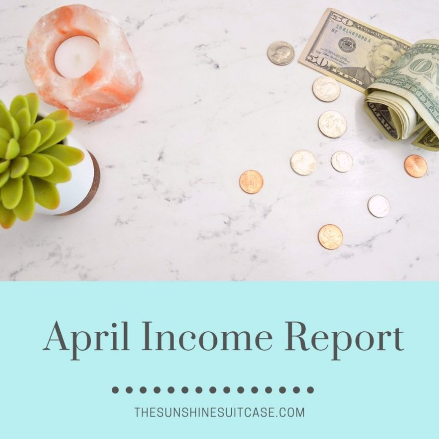 April Income Report blog image