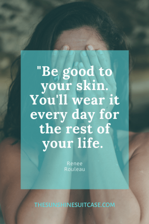 Skin Care Quote Healthy Skin, Glowing Skin