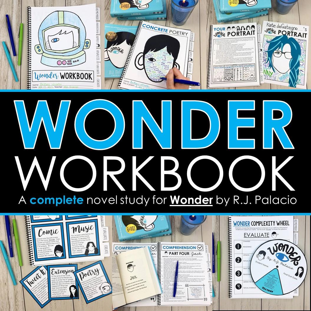 Wonder Novel Study Amp Workbook