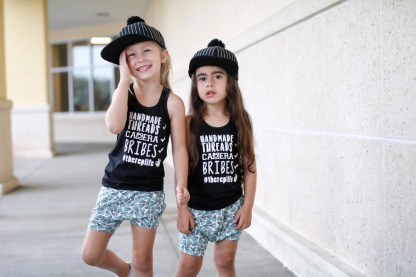 Hats: iBetterAccessorize, Tanks: PH Threads, Shorts: My Littlest 1