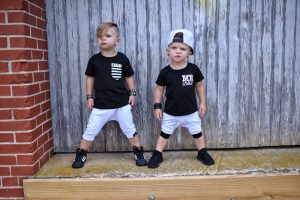 Luke and Ryder for Hoodlum Threads