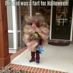Fart Costume for Kids