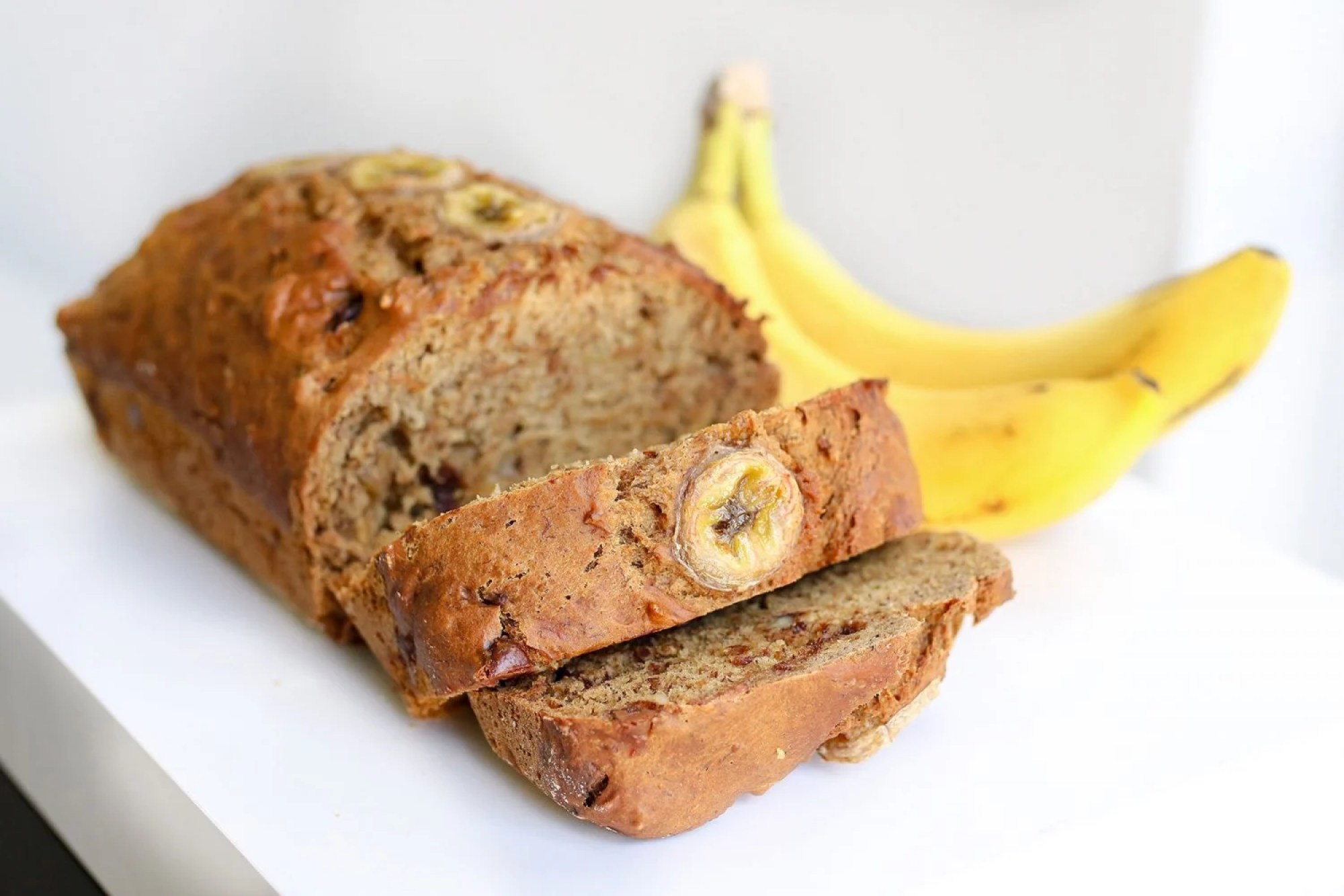 vegan banana bread, vegan banana nut bread, vegan banana nut chocolate chip bread, healthy kid foods, kid friendly snacks, kid friendly breakfast, easy breakfast ideas, easy snack ideas, mom blog, mom blogger, mom bloggers, mom blogs, family friendly dishes, recipes, recipe, food blog, food bloggers
