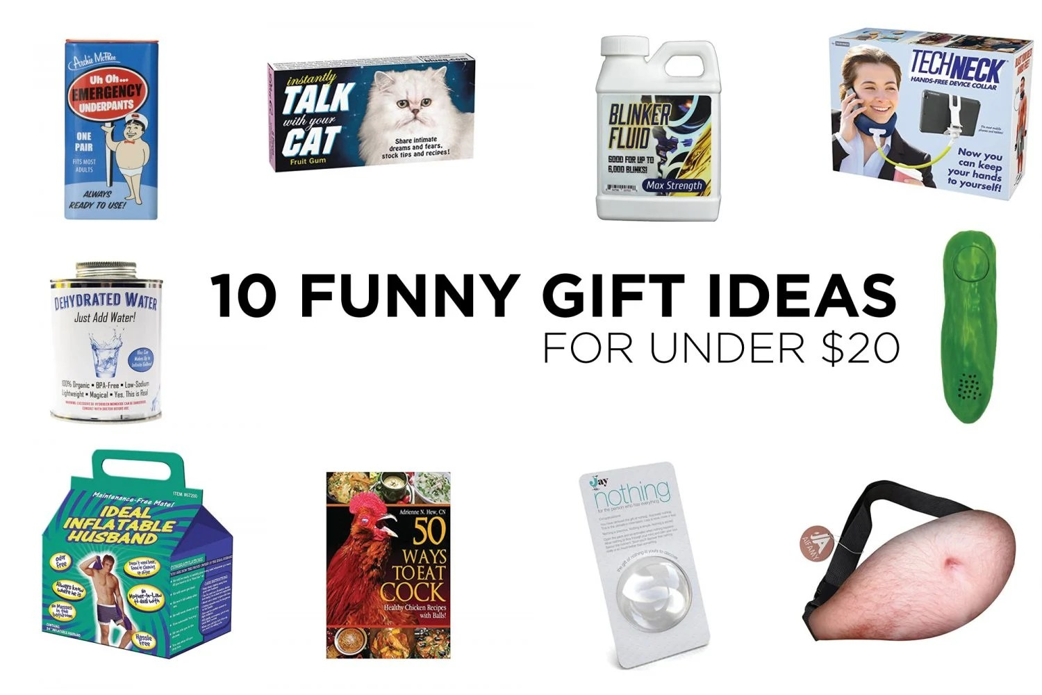 funny gift ideas, funny gifts, gag gifts, novelty gifts, gag gifts 2018, joke gifts, christmas gifts, white elephant, mother's day gifts, father's day gifts, strangest gift ideas, weirdest gift ideas, weird gifts, strange gifts, birthday gifts, white elephant gifts, secret santa gifts, mom blog, mom blogger, mommy blog, mommy blogger, 2018, beer belly fanny pack, yodeling pickle, emergency underwear