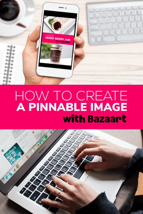 Ever wanted to create a beautiful pin-worthy image, but don't know how? Here is my 5 step guide to creating a sharable Pinterest image!