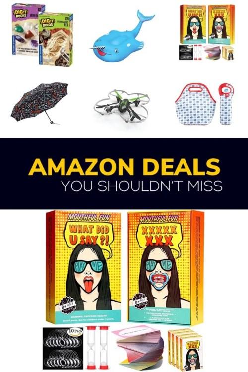 Here are my top 6 Family Friendly @Amazon deals you shouldn't miss! Plus, if you have Prime, shipping is free!