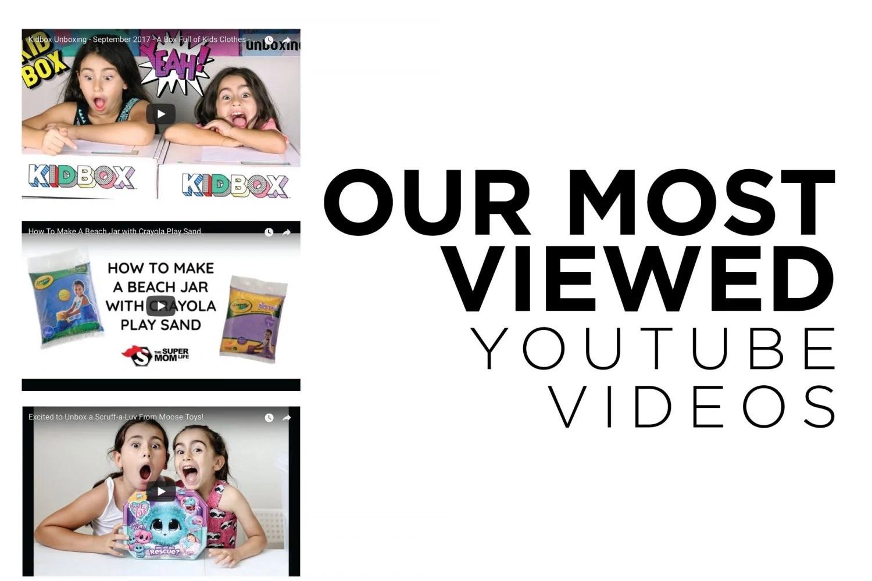 favorite youtube videos, favorite, most viewed, youtube kids, youtube, youtube videos, mom blog, mom blogger, mommy blog, mommy blogger, 2018