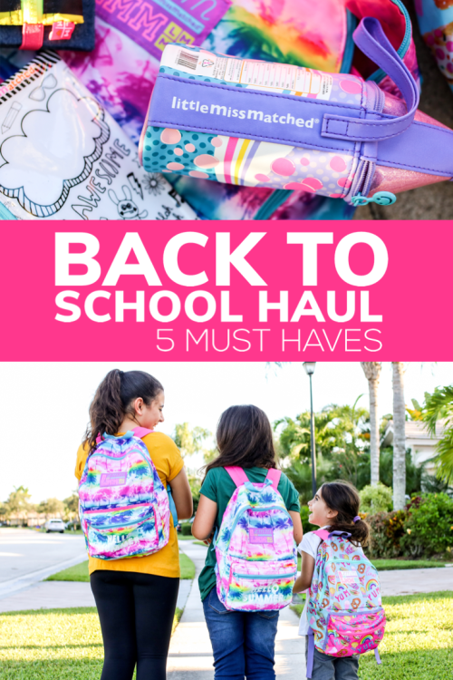 It's back to school time! When it comes to selecting their back to school goodies, my daughters have 5 very specific must-haves!