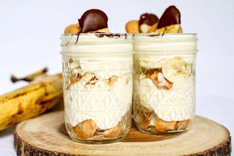 Banana Pudding Jars