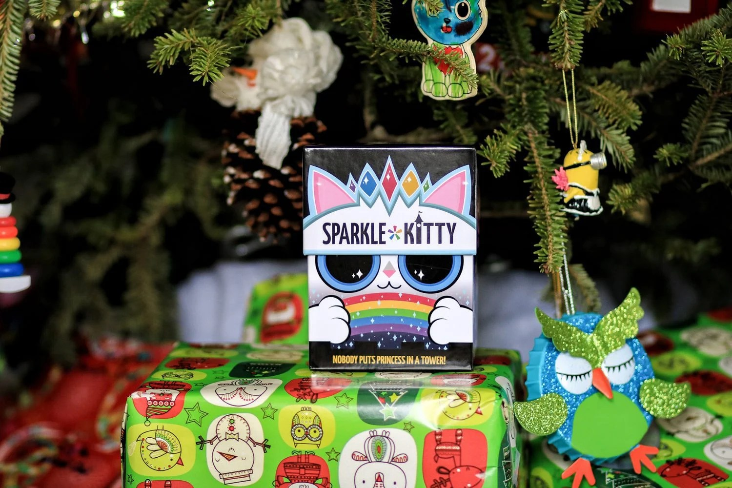 sparkle kitty, game, kids game, family game, christmas gift, family card game, card game, fun game, mom blog, mom blogger, mommy blog, mommy blogger, 2018, family blog, parenting blog, the super mom life, thesupermomlife, parenting blogger, family blogger