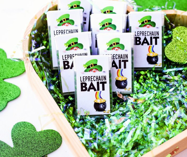 St. Patrick's Day Leprechaun Bait for Kids Plus Free Printable