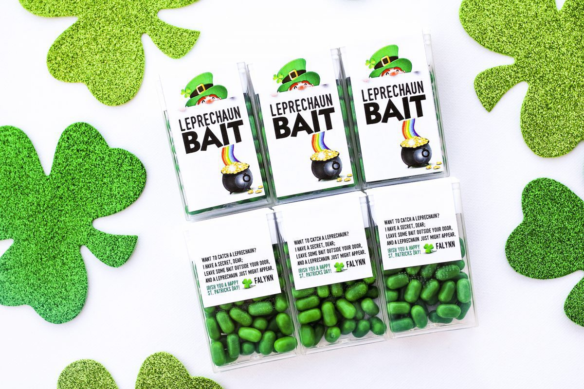 leprechaun bait, leprechaun poop, crafts, craft, crafts for st. patrick's day, st patty's day, kids, gift idea, diy, kids craft, crafts for kids, 2019, candy, ideas for st patrick's day, gifts for kids
