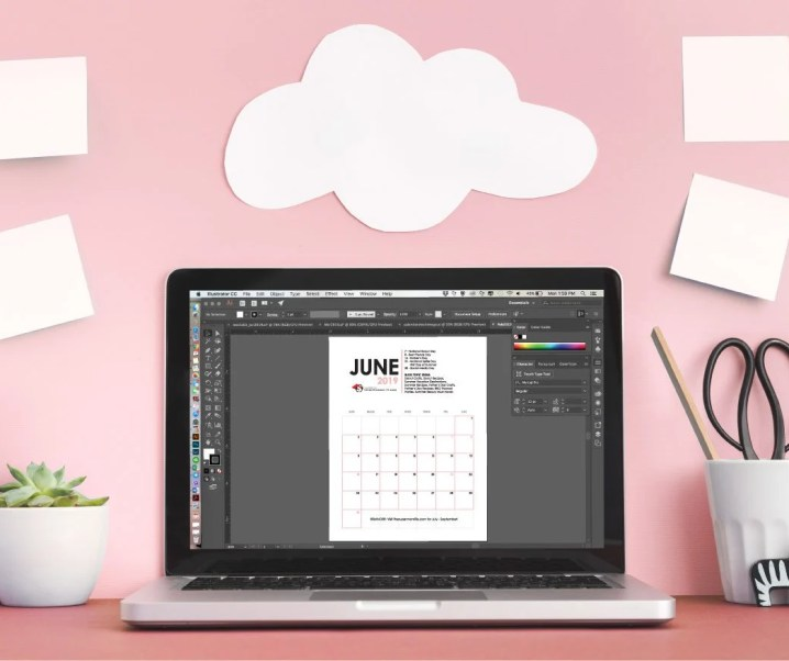 Free Printable Editorial Calendar for Bloggers – Second Quarter 2019