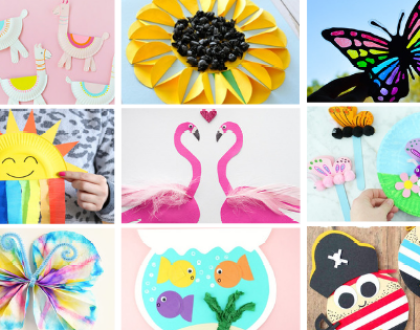 Super Fun Summer Craft Ideas for Kids