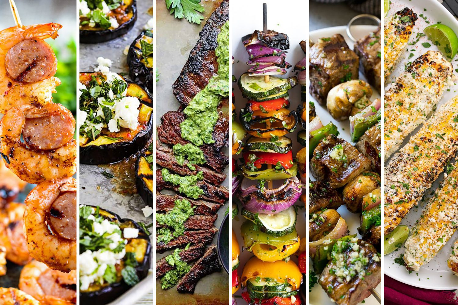 Looking for some new grilling recipes? Here are ten grilled meat, seafood and veggie recipes you have to try!