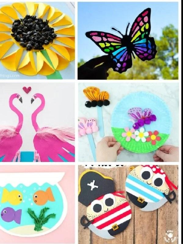 Super Fun Summer Craft Ideas for Kids