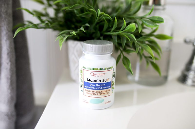 Macula 30 eye health supplement from Quantum Health