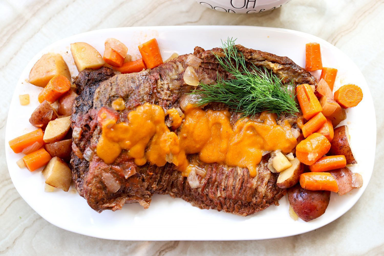 beef brisket potatoes and carrots