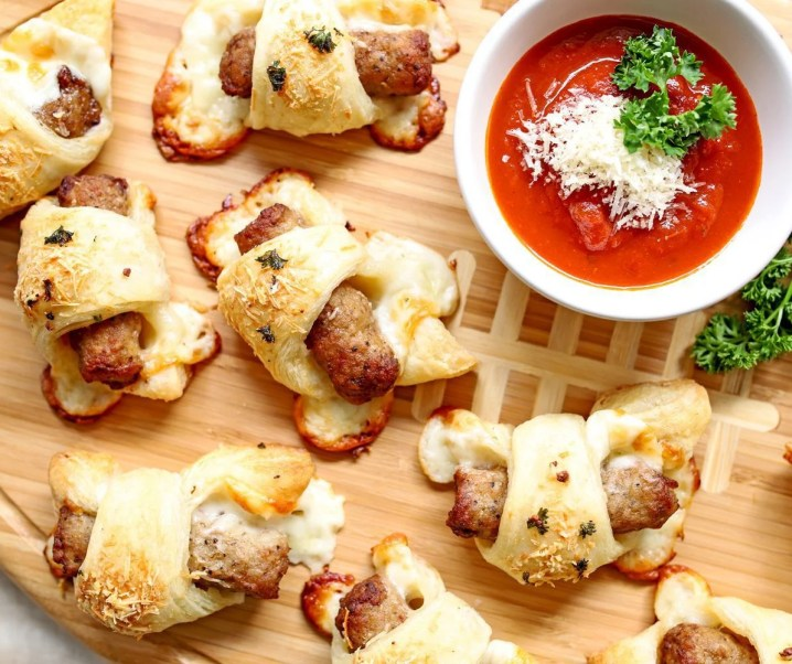 Italian Pigs in a Blanket Appetizer