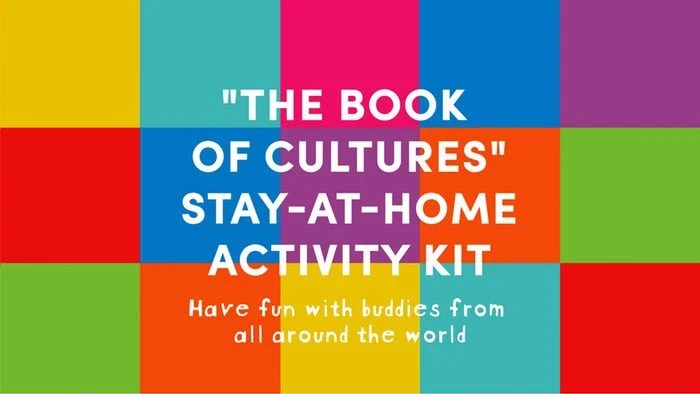 the book of cultures stay at home activity kit