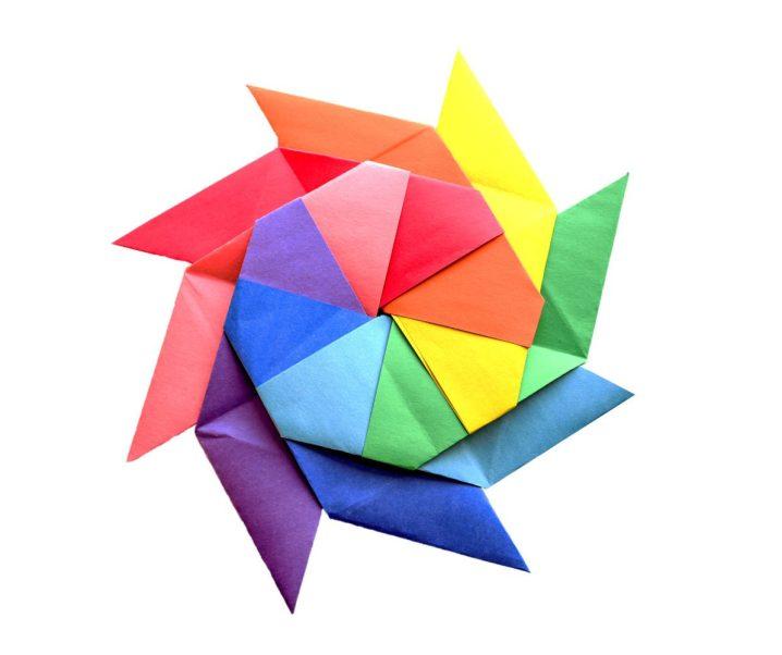 How to Make a Rainbow Transforming Ninja Star