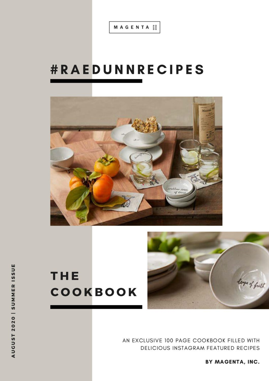 Rae Dunn Recipes Summer Cookbook