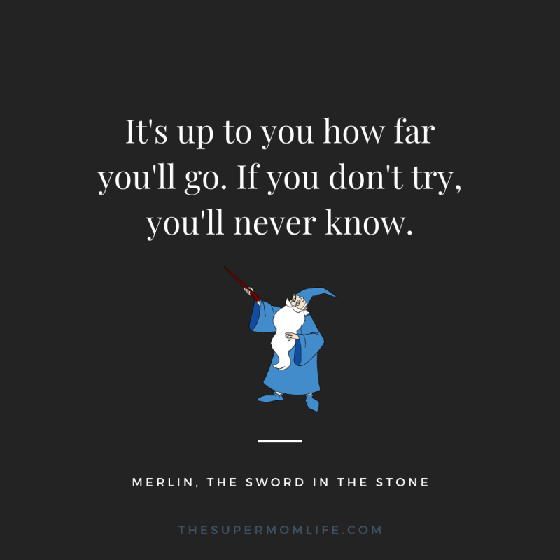 It's up to you how far you'll go. If you don't try, you'll never know.