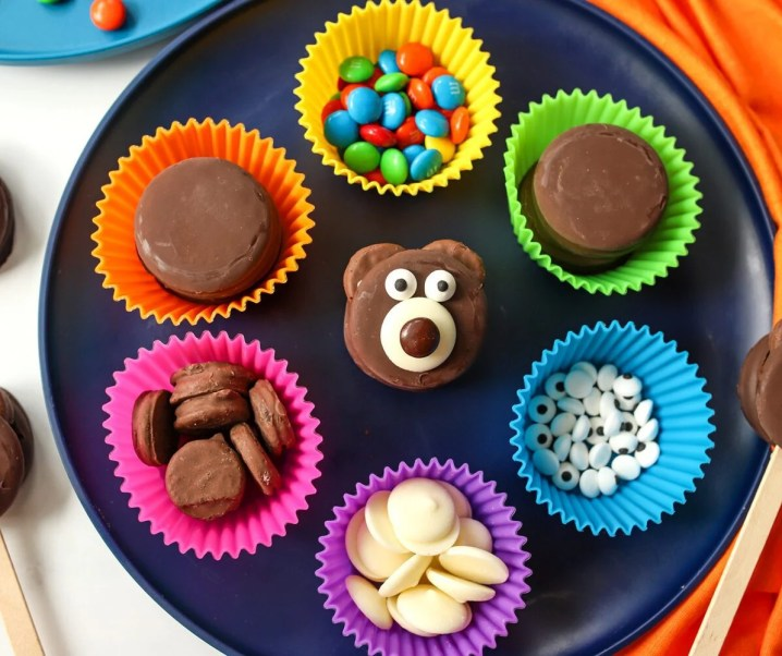 How to Make Teddy Bear Cookie Treats
