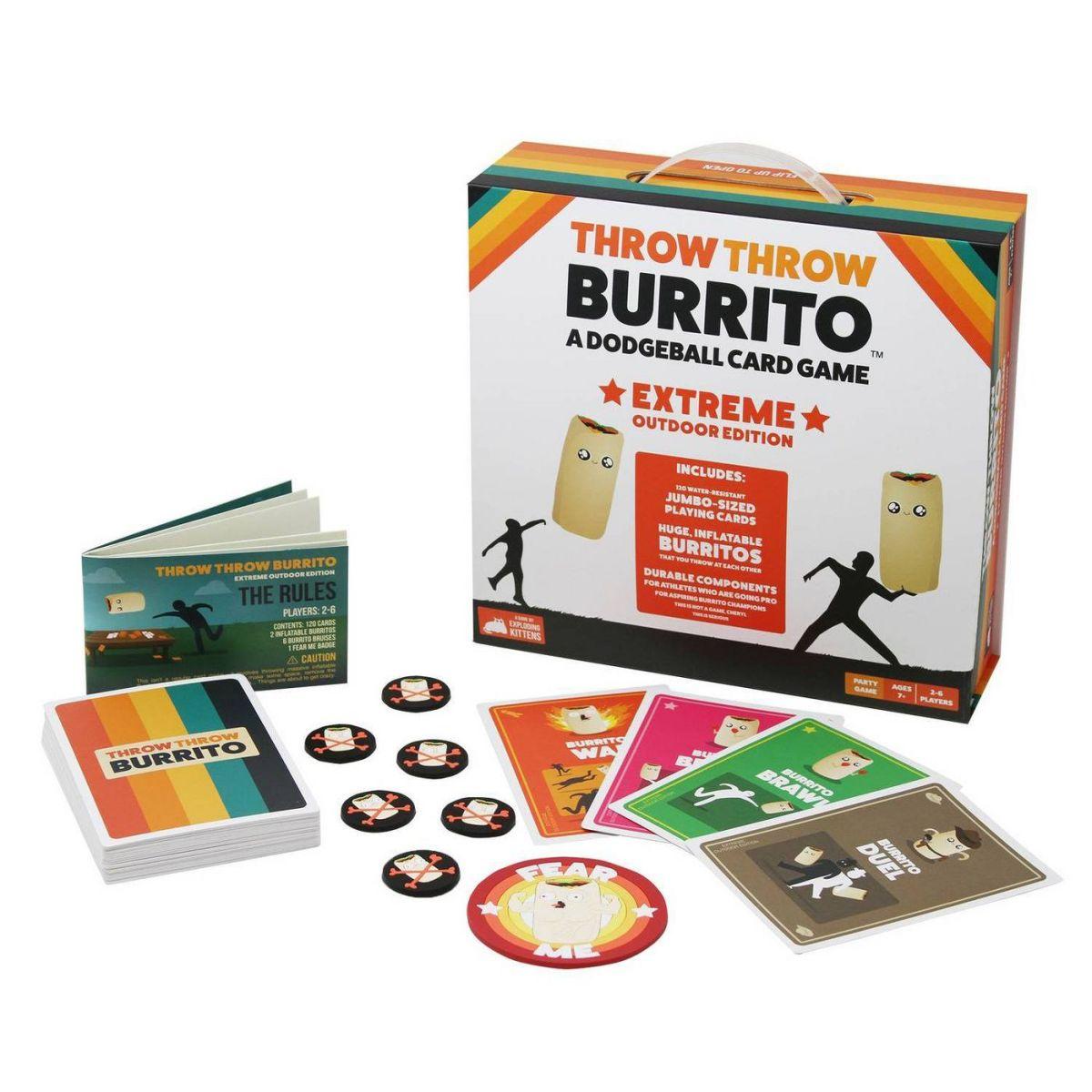 Throw Throw Burrito Outdoor Extreme Edition