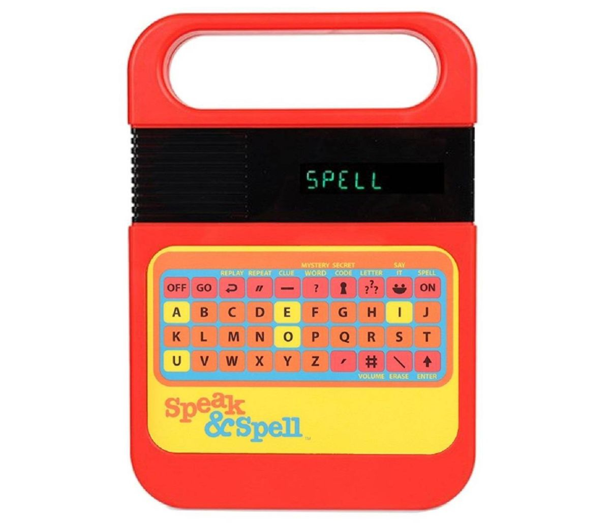 speak and spell electronic game