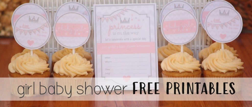 Princess Themed Baby Shower FREE PRINTABLE'S - The Supermoms Club