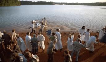 Mayhem at the baptism