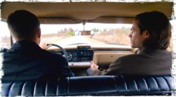 """Sam and Dean play the serial murderer trivia game in the Impala during Supernatural Season 10 Episode 14 """"The Executioner's Song"""""""