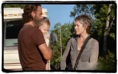 Rick Carol The Distance The Walking Dead