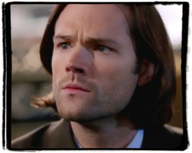 Sam winchester, thinking pose