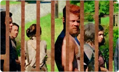 silk gate closes Remember The Walking Dead