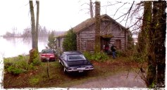 """The Winchesters meet Charlie at a cabin. Supernatural Season 10 Episode 18 """"Book of the Damned"""""""