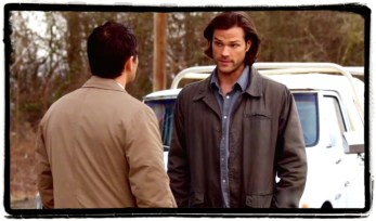 Cas and Sam are worried about Dean