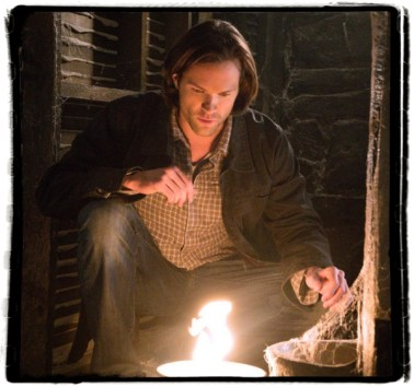 Sam attempts spell Supernatural The Werther Project