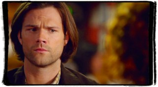 Sam frowns Rowena Supernatural The Werther Project