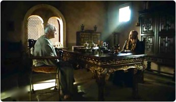 High Sparrow Cersei Game of Thrones Sons of the Harpy