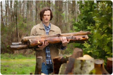 Sam builds pyre Supernatural The Prisoner