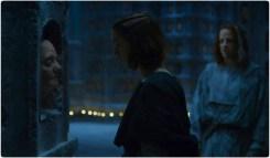 Arya face Game of Thrones Unbowed Unbent Unbroken